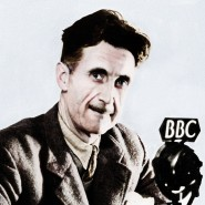 Ein Publizist für alle Kanäle: George Orwell auf einer Aufnahme aus der unmittelbaren Nachkriegszeit.