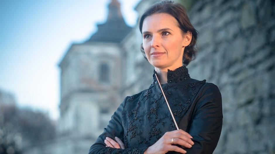 Wenn sie dirigiert, spielt das Geschlecht keine Rolle: Oksana Lyniv.