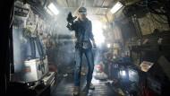 "Szene aus dem Science-Fiction-Thriller ""Ready Player One"" Tye Sheridan als Wade Owen Watts."