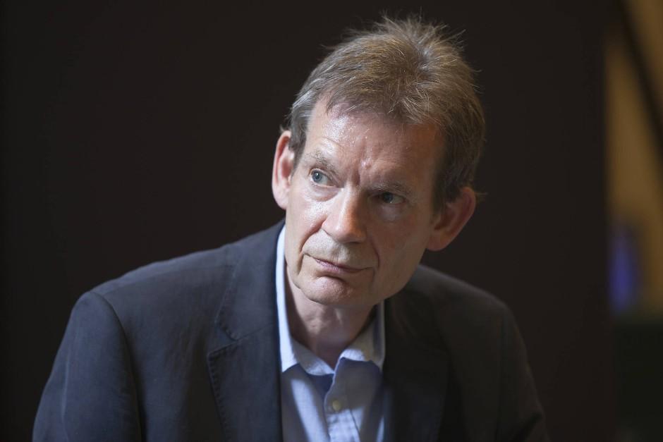 Der englische Schriftsteller Graham Swift