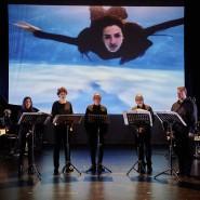"""Das Ensemble Ascolta und die Neuen Vocalsolisten Stuttgart in """"Frame"""" von Malte Giesen."""