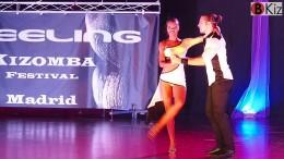 "Isabelle und Félicien tanzen ""Kizomba"""