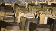 Wurde hier manipuliert? Wahlmaschinen in Philadelphia.