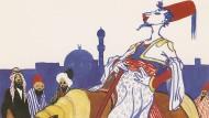 """Als Monarch ein Hochstapler, als Schneider unübertroffen: Die Illustration von Max Reach zu Hauffs """"Märchen von dem falschen Prinzen"""""""
