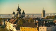 Altstadt von Tallinn, Blick auf die Alexander-Newski-Kathedrale