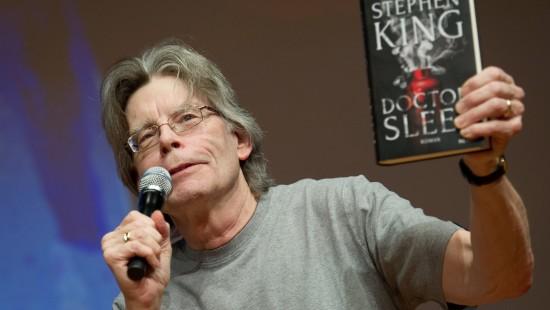 Autor Stephen King stellt sein neues Buch vor