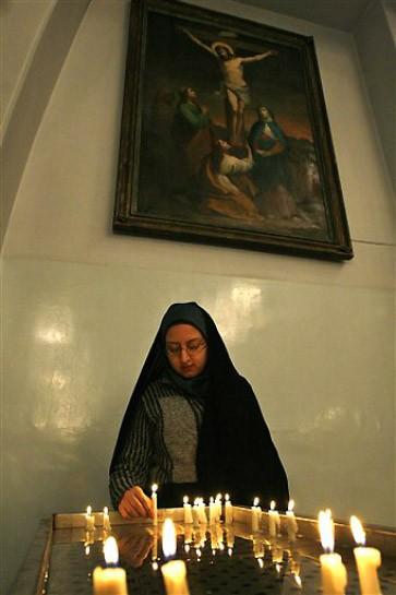 Heiligabend 2008 in St.-Grigor-Kirche in Teheran