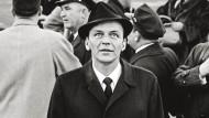 Washington, Januar 1961: Frank Sinatra reist zu Kennedys Amtseinführung an.
