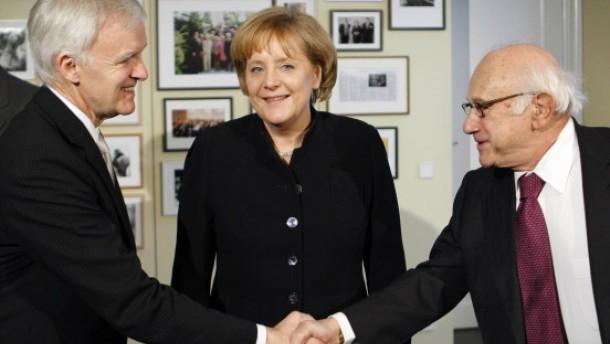 Angela Merkel, Robert Kerrery, Fritz Stern