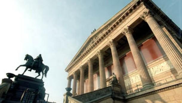 Die Alte Nationalgalerie - eine Walhalla der modernen Kunst
