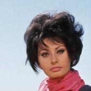 Sophia Loren Anfang der sechziger Jahre in einer Drehpause