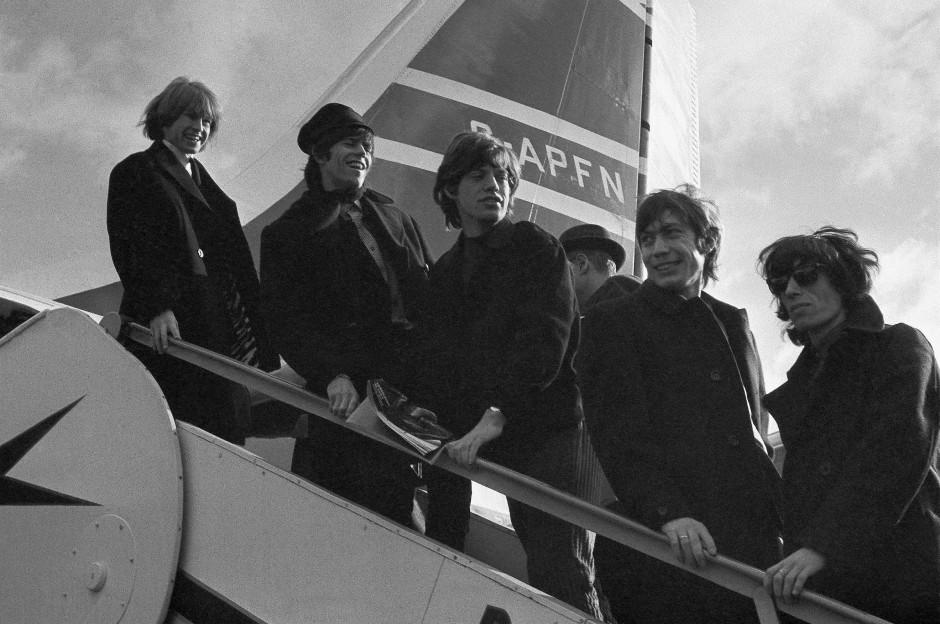 Lang ist es her: Die Rolling Stones in der Konstellation von 1964: Brian Jones (v.l.), Keith Richard, Mick Jagger, Charlie Watts und Bill Wyman.