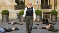"""Ulrich Tukur als LKA-Ermittler Felix Murot in der leichenreichen""""Tatort""""-Folge """"Im Schmerz geboren"""""""