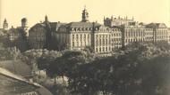 Prachtbau - und alles ohne einen staatlichen Pfennig: Frankfurts Johann Wolfgang Goethe-Universität, um 1920