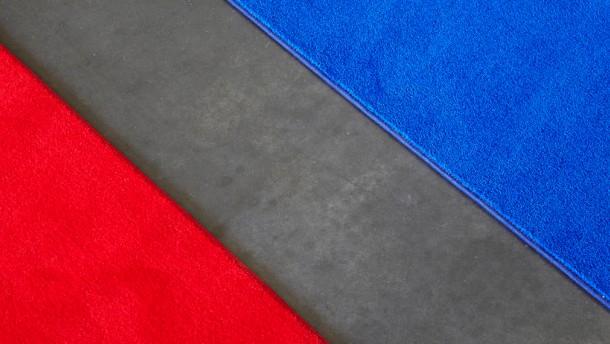 Demokratie in Rot und Blau