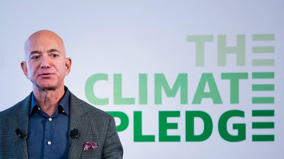 Jeff Bezos spielt Klimaretter