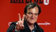 """Quentin Tarantino bei der deutschen Premiere von """"The Hateful 8"""" im September 2015 in Berlin"""