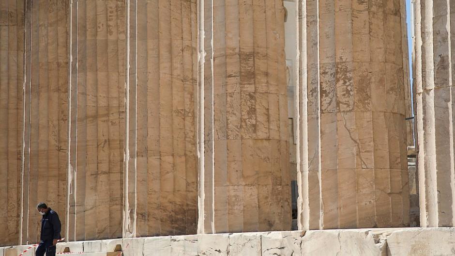 Sind antike Stätten wie der Athener Parthenon Symbole für weiße Vorherrschaft? Manche benutzen sie als solche.