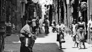 Im Rione herrscht das Gesetz der Straße