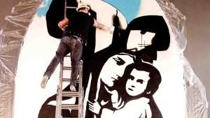 Die Madonna aus der Spraydose