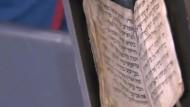 Ältestes bekanntes jüdisches Gebetbuch im Museum