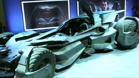 """Erster Blick auf das neue """"Batmobil"""""""