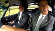 Barack Obama auf Kaffeefahrt mit Jerry Seinfeld