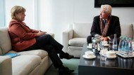Richard Gere trifft Angela Merkel