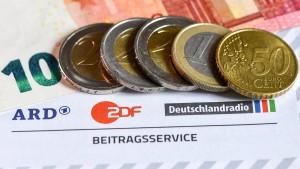 ARD und ZDF melden ihren Finanzbedarf an