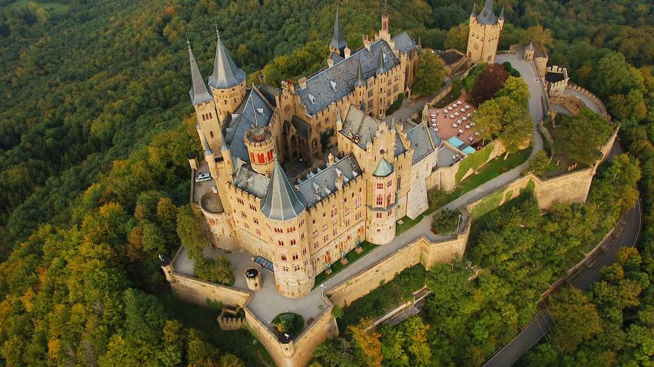 Vor 150 Jahren Wurde Die Burg Hohenzollern Fertiggestellt