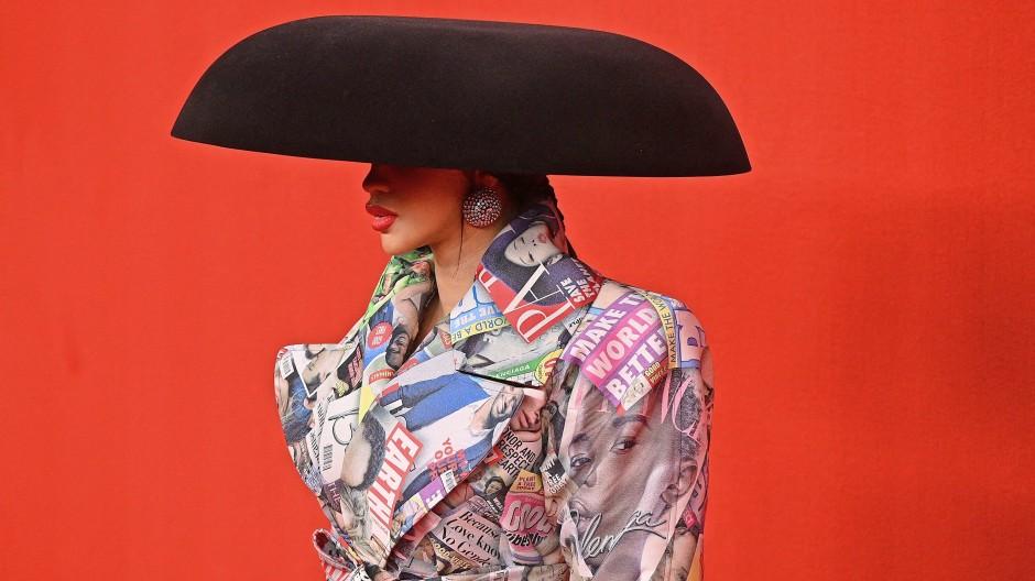 Die Show als Show: Rapperin  Cardi B modelt für Balenciaga.