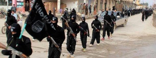 """Millionen Menschen flüchten im Irak vor den Kämpfern des """"Islamischen Staats"""": Abu Yusaf schloss sich ihnen an, weil er sich in Europa als Muslim diskriminiert fühlte (Bild von einer Propaganda-Website)"""