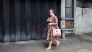Und wovor haben Sie so Angst? Teilnehmerin des World Zombie Day in London.