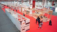 Meinungsfreiheit, Absagen und mäßig gefüllte Hallen: Auf der Frankfurter Buchmesse 2021