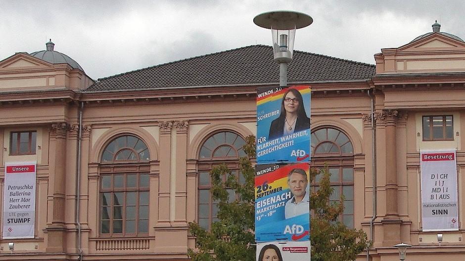 Zusammengestrichen, heruntergespart: Das schöne Theater in Eisenach wartet auf seine Besucher