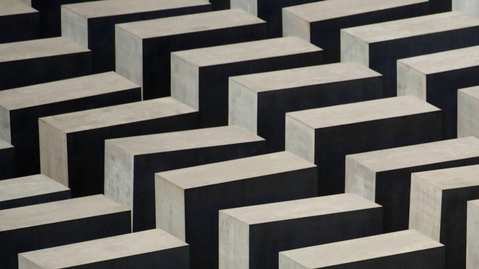 Detail aus Peter Eisenmans Berliner Holocaust-Mahnmal