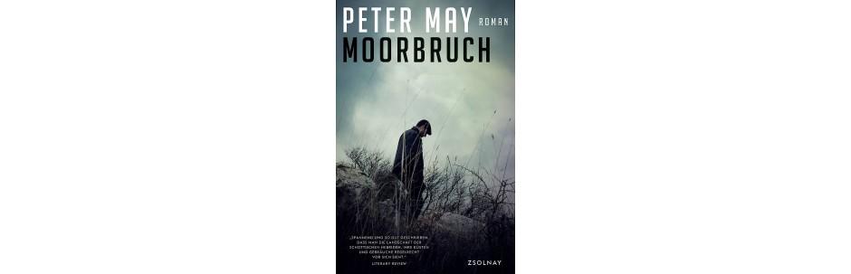 """Peter May: """"Moorbruch"""". Roman. Aus dem Englischen von Silvia Morawetz. Zsolnay Verlag, Wien 2017. 336 S., geb., 20,-€"""