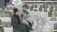 Robert Black und H.P. Lovecraft in Providence, am Titelort von Alan Moores neuer Serie