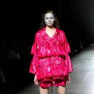 Kreation beim Nachhaltigkeits-Gipfel der Modebranche in Kiew im Februar