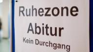 Abiturprüfung an einer integrierten Gesamtschule in Niedersachsen