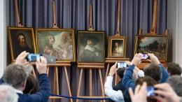 Gemälde nach spektakulärem Diebstahl zurück in Gotha