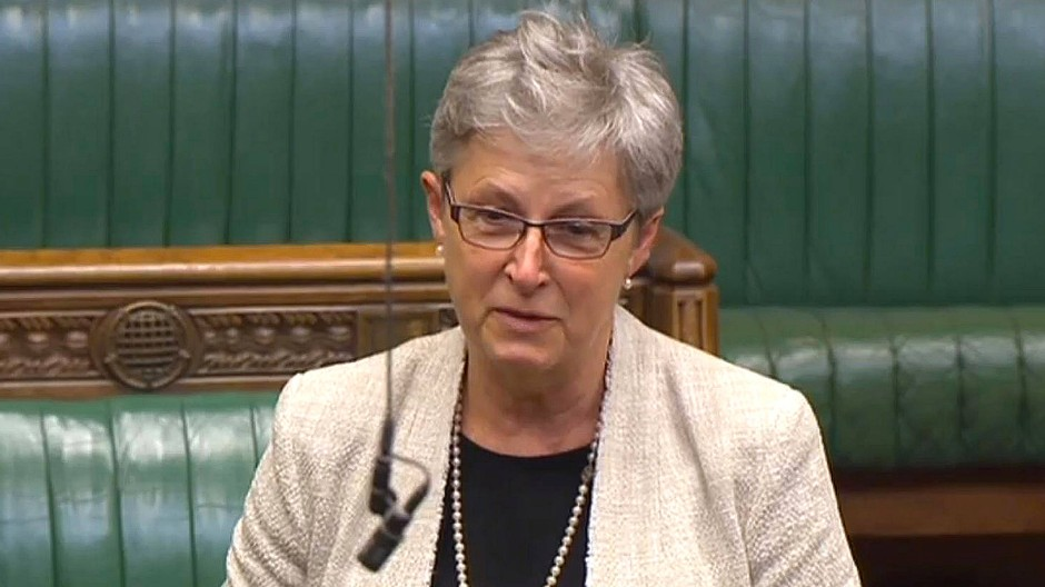 Gisela Stuart im House of Commons
