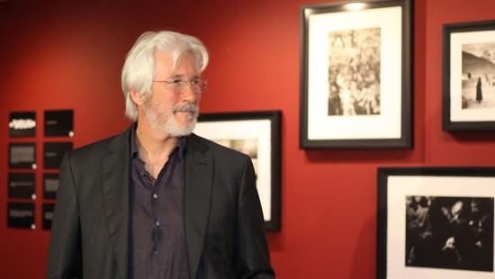 Richard Gere eröffnet eigene Ausstellung