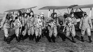 Und wenn mehr Frauen fliegen wird alles gut? Pilotinnen der Royal Air Force.