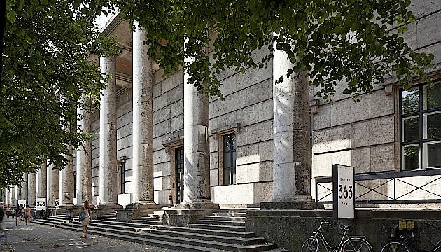 Tempel für Musen aller Art: das Münchener Haus der Geschichte