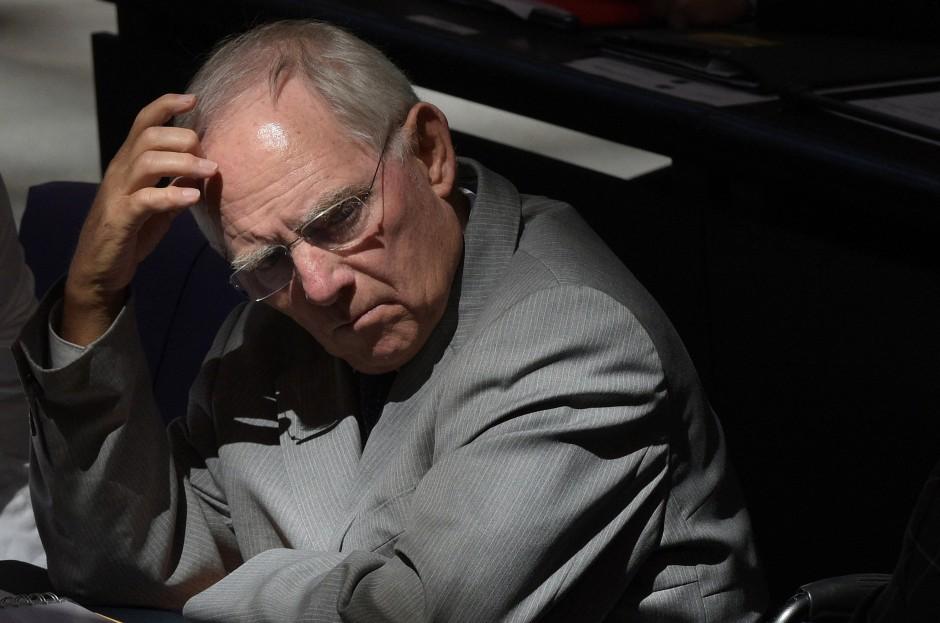 Wer fordert etablierte Politiker wie ihn heraus? Wolfgang Schäuble sitzt seit über vierzig Jahren im Bundestag.