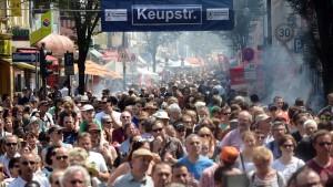 Kulturengel in der Keupstraße