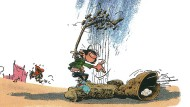 """Aus dem Katalog """"Gaston – Au-delà de Lagaffe"""""""