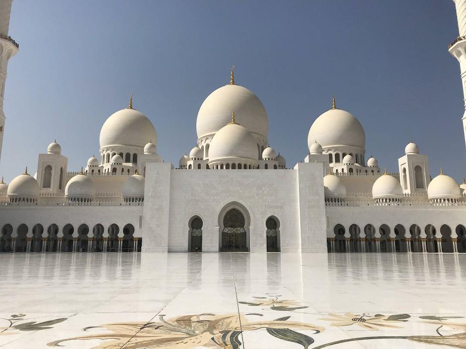 Abu Dhabi Scheich