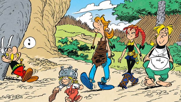 Neuer Asterix-Comic feiert Mädchen als Titelheldin